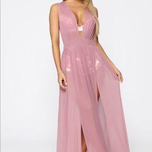 Fashion Nova Sprung in the Sun Cover Up Dress